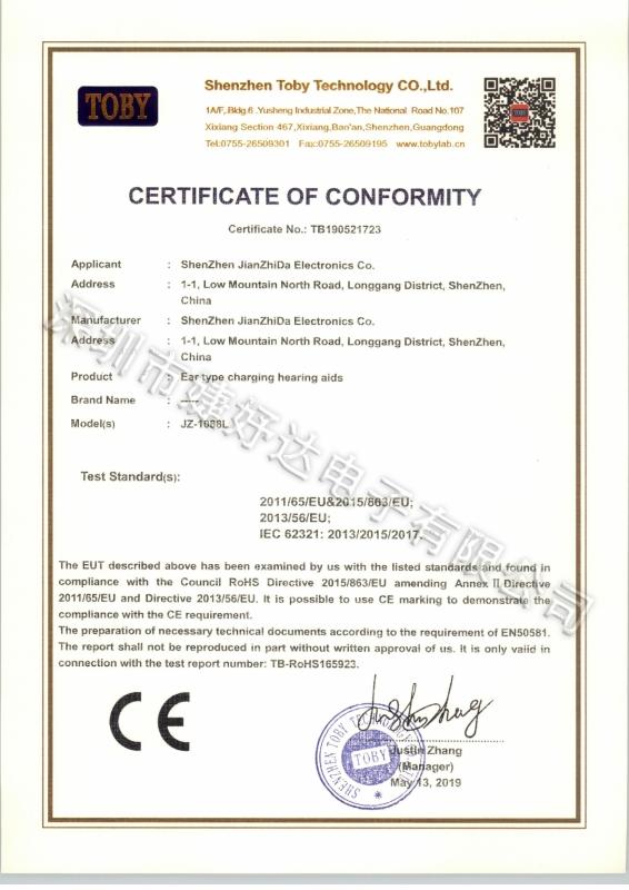 TB190521723(1088L-ROHS证书)