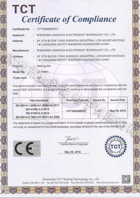 1088H-CE证书