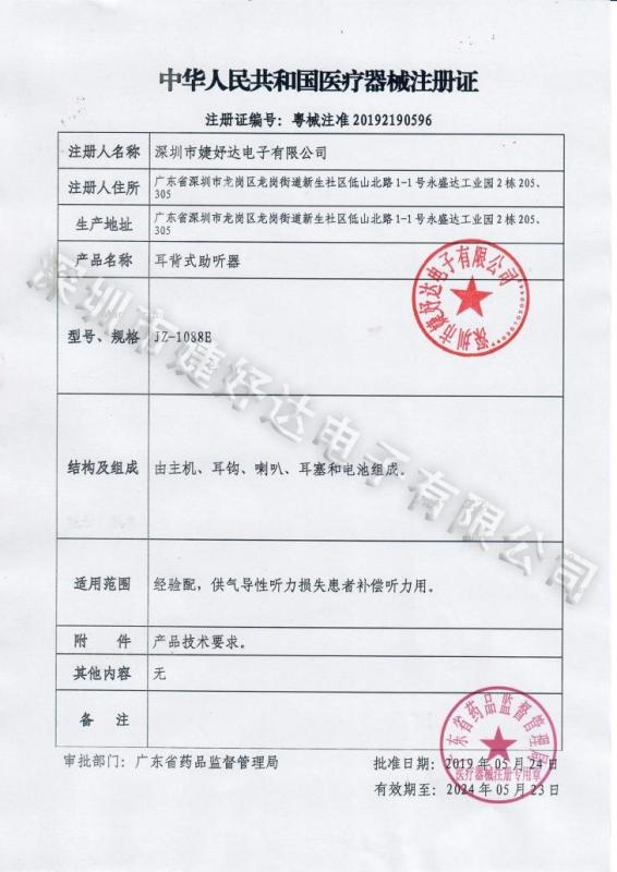 1088E注册证